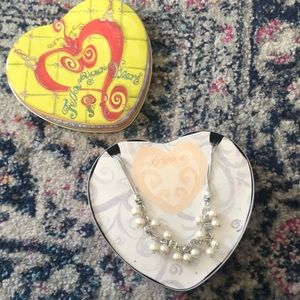 Brighton never been worn pearl necklace